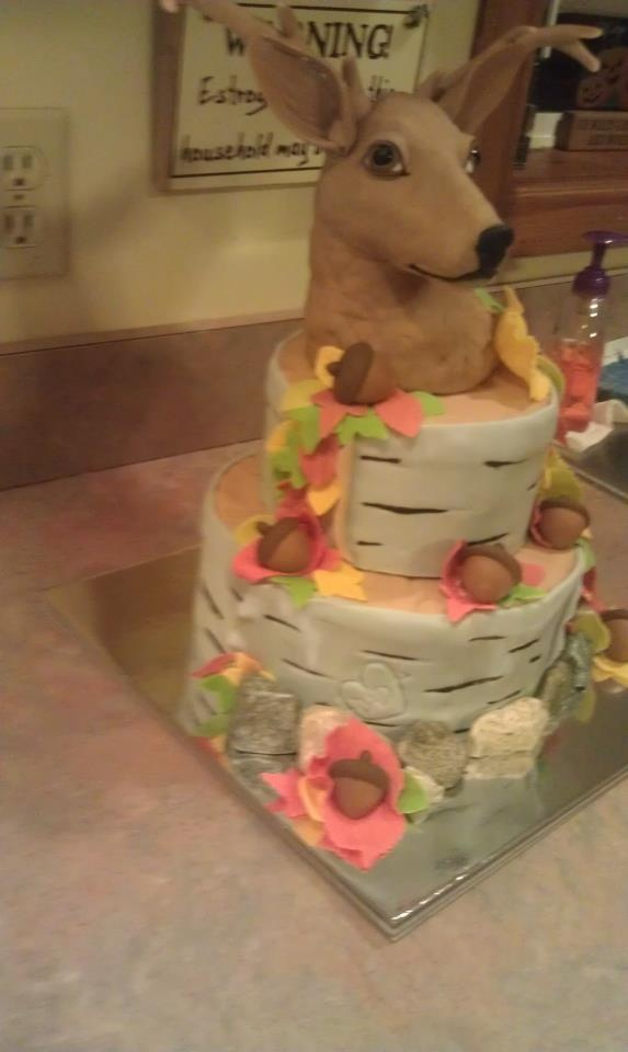 deer cakeDeer Cake, Birthday Ideas 3, Desserts Ideas, Drinks Artists, Deer Parties, Cake Ideas, Fantastic Cake, Birthday Cake, Birthday Idease 3