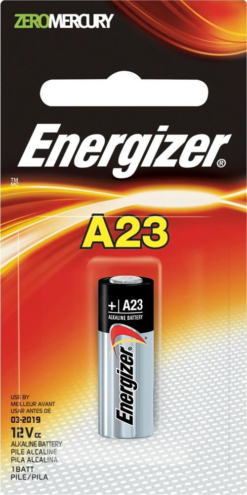 Energizer - A23 Battery - Silver