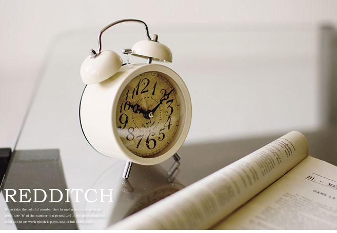 【楽天市場】アンティークレトロな目覚まし時計 -REDDITCH- [目覚まし時計 おしゃれ アラームクロック めざまし時計 レトロ 目覚まし時計 ライト付き アラームクロック おしゃれ 目覚まし時計 レトロ めざまし時計 プレゼント かっこいい お洒落 ラッピング 入学祝い 就職祝い]:LIFE PLUS 楽天市場店
