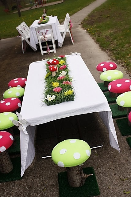 Cute idea for a kids birthday party!