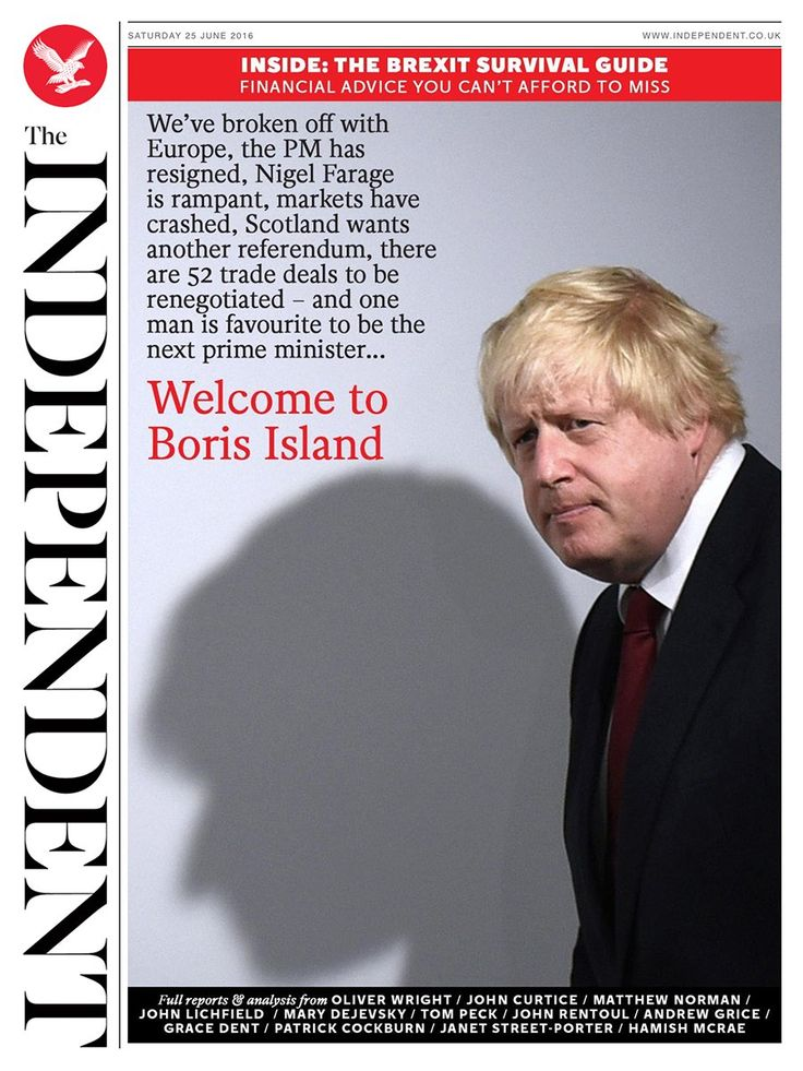 The Independent on Brexit, Little britain, Financial advice