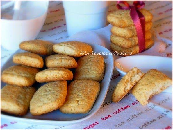 Un Tavolo per Quattro: Biscotti al mascarpone
