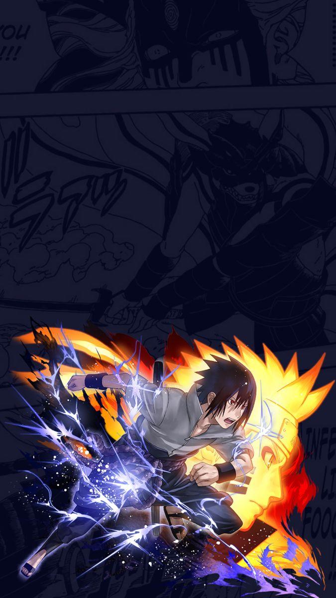 Naruto X Sasuke Wallpaper Anime Wallpaper Anime Lucu Anime Naruto
