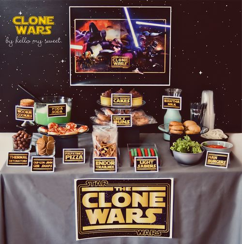 Sweet Parties: Star Wars Party & Dessert Table