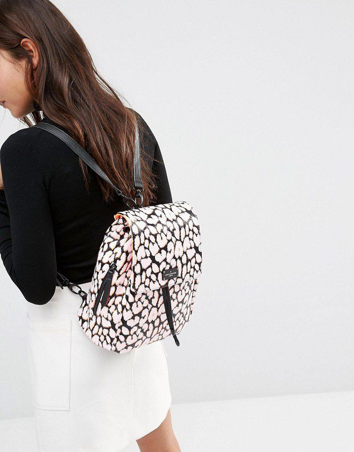 Pin for Later: The 1 Print We Might Wear Too Much of This Fall  Pauls Boutique Backpack ($65)