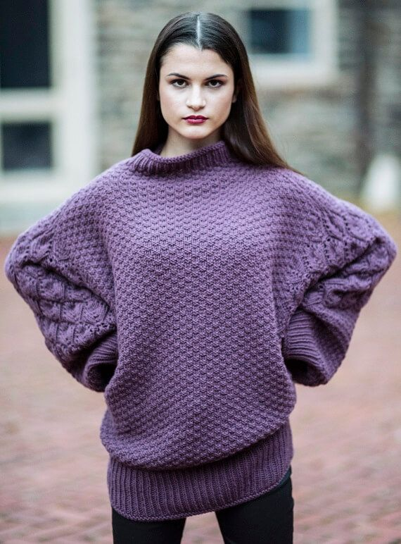 Rainier Sweater HANIA by Anya Cole Fall 2016