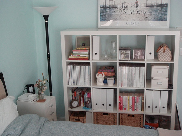 expedit ikea bookcase ideas. Black Bedroom Furniture Sets. Home Design Ideas