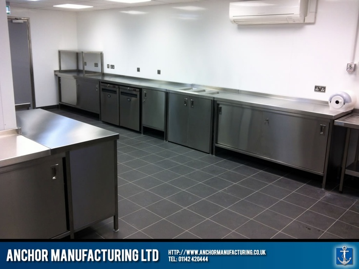 Superb Our Factory Made Hot Cupboards, Steel Storage Units, Kitchen Sinks And Wall  Cladding Installed