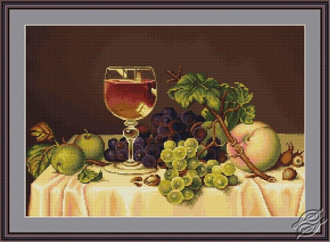Still Life - Cross Stitch Kits by Luca-S - B482