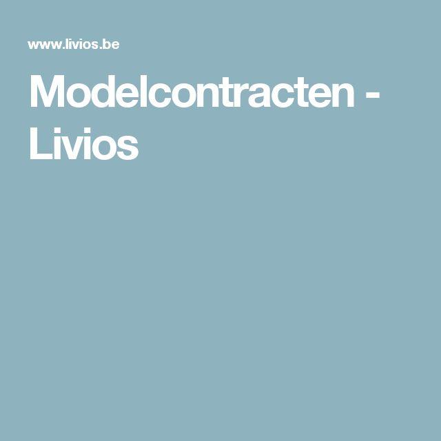 Modelcontracten - Livios
