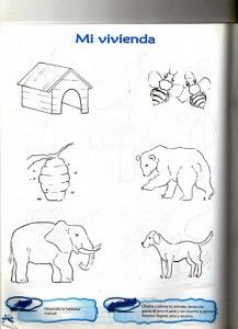 Matching animals to their home worksheet (6)