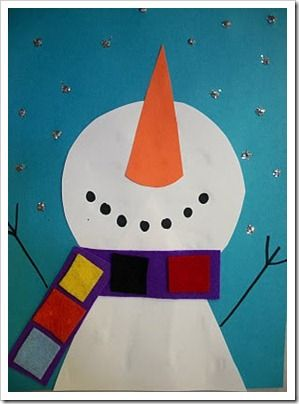 I love the different angle of this snowman.