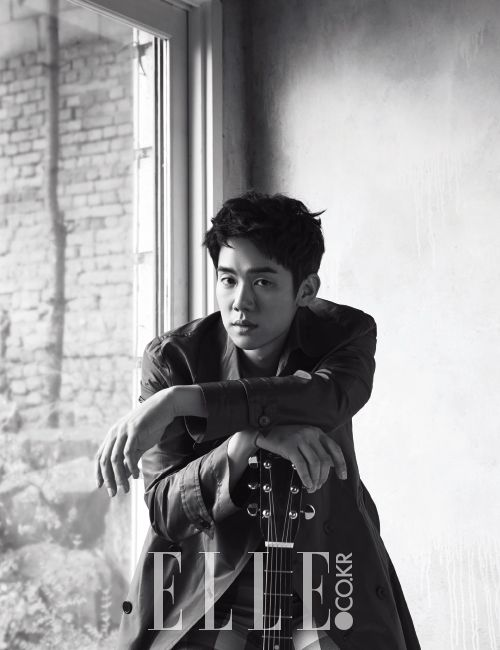 Yoo Yun Suk - Elle Magazine April Issue '16