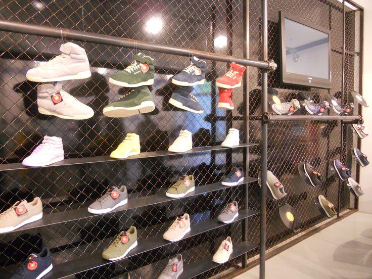 #reebok #jkrproductions #showroom #monza #setup #shoes #sport #grid #vinyls