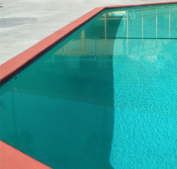 Mid Century Pool in Los Angeles