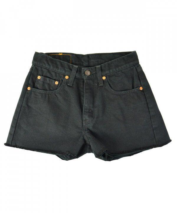 Γυναικείο ψηλόμεσο Vintage σορτς Levis μαύρο 8057485  γυναικείασορτσάκια   μόδα  ντύσιμο  ρούχα  shorts  fashion  φθηνά 75404c7f921