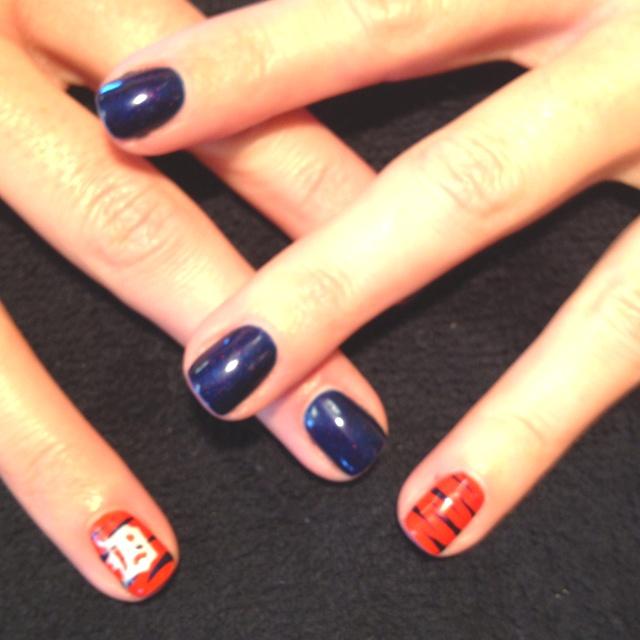 Detroit Tigers Nails!!