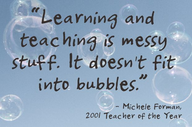 Michele Forman, 2001 National Teacher of the Year: