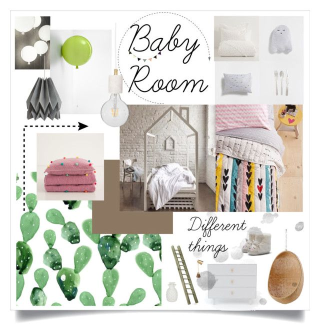 """Baby Room"" by masha-petrushova on Polyvore featuring interior, interiors, interior design, дом, home decor, interior decorating, Zara Home, Brokis, ferm LIVING и Sika"
