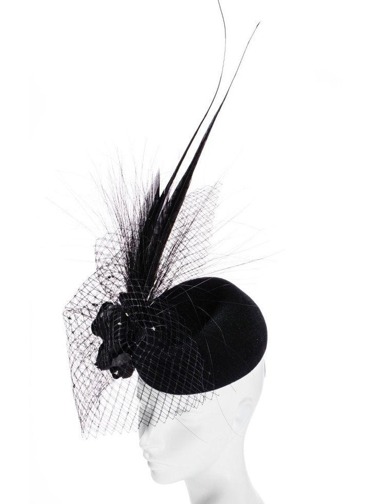 Hatmaker - Sydney Millinery Racing Fascinators Bridal Headpieces Panama & Mens Hats - Classic Autumn Racing Cocktail Hats