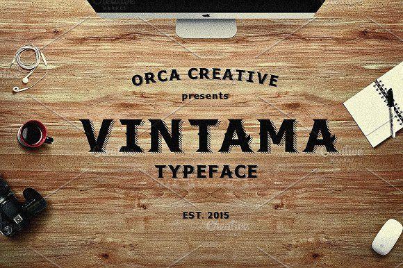 Vintama by ORCA Creative Store on @creativemarket