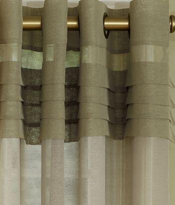 Portico Pleat Grommet Top Curtains