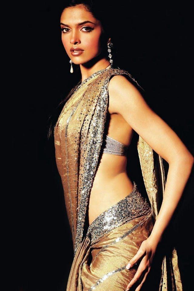 Deepika Padukone Sari