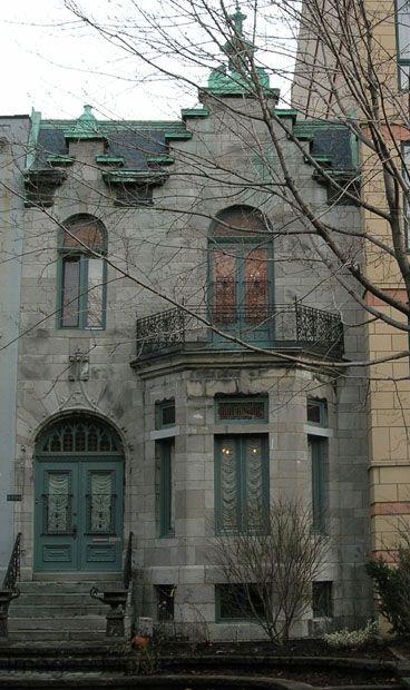 Albert Holmes House  Westmount Montreal