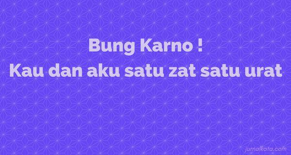 Persetujuan Dengan Bung Karno http://ift.tt/2pgb2Fc