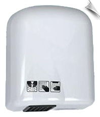 This automatic hand dryer adopts all-closed ABS structure and features heavy power, low noise, convenient use and safety.