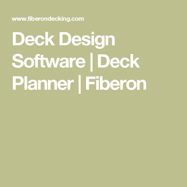 Best 20 Deck Planner Ideas On Pinterest Vertical