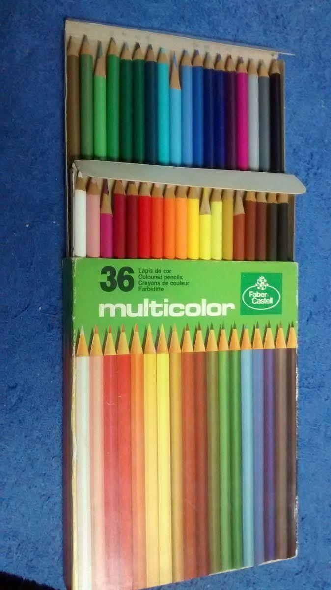 caixa de lápis de cor 36 cores