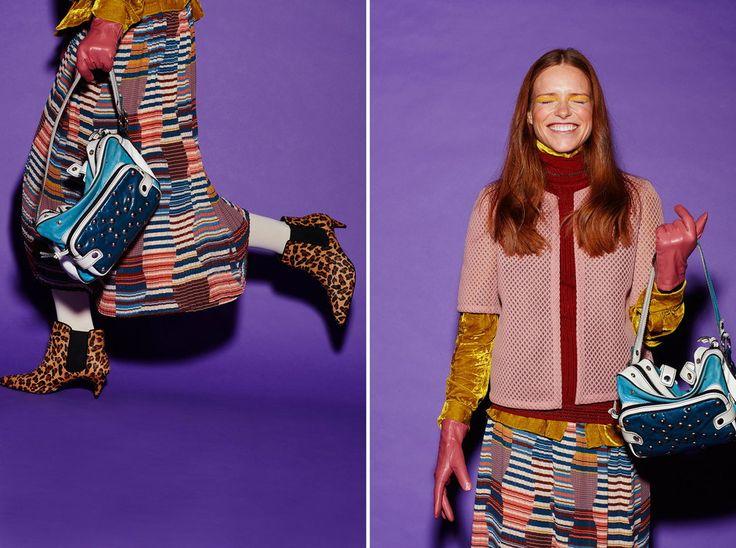 Sesja zdjęciowa Full Color - trend sezonu kolory i wzory