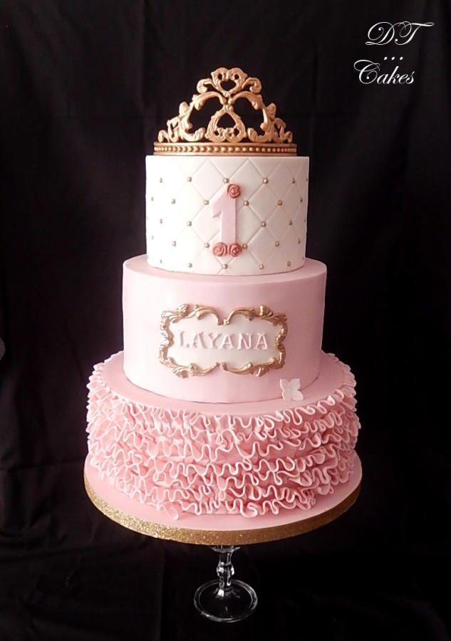 271 Best Princess Tiara Cakes Images On Pinterest Tiara Cake