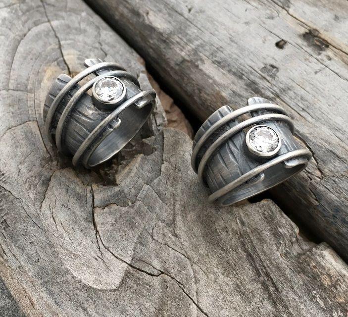 Sterling Silver Rings By Jewelry Artist Joy Kruse Wild Prairie Silver Jewelry