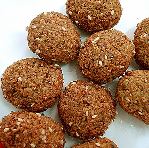 Falafel – Lil Lil Lil   MunatyCooking #glutenfree #stovetop and food processor #easy