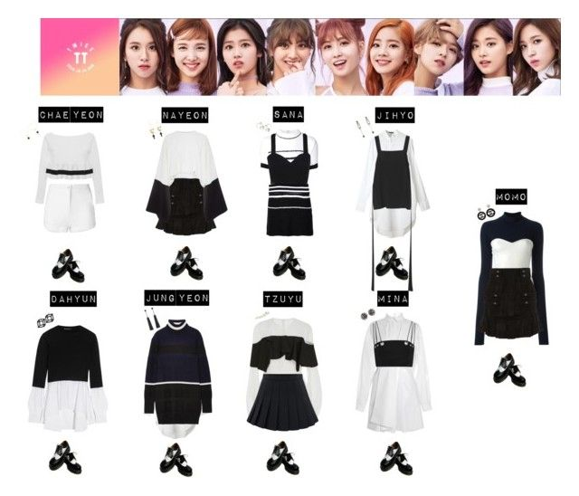 """""""TWICE - TT❤️💜💚💛💙"""" by mabel-2310 on Polyvore featuring N°21, Isabel Marant, Solace, Alexander McQueen, UNIF, Boohoo, TIBI, Bibhu Mohapatra, Tim Coppens and Blugirl"""