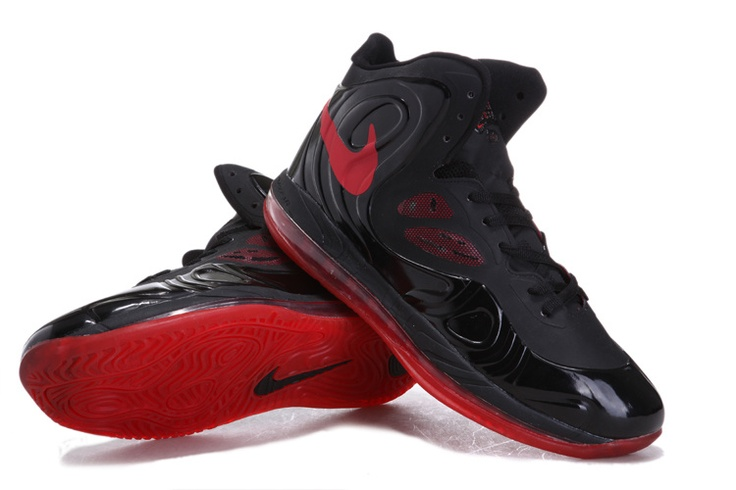 Nike Air Max Hyperposite Black Bright Crimson Black  [Nike Basketball Shoes 186] - $59.63 : Toms Outlet,Cheap Toms Shoes Online