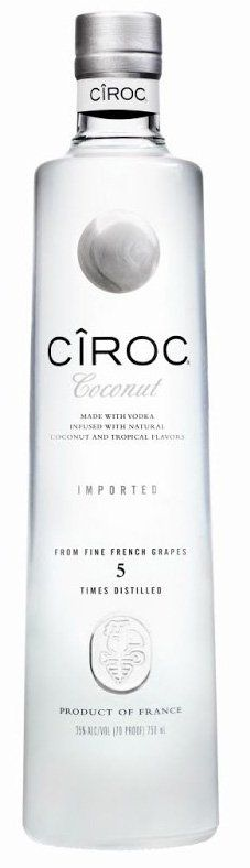 Ciroc Coconut Vodka #kokosnoot #wodka