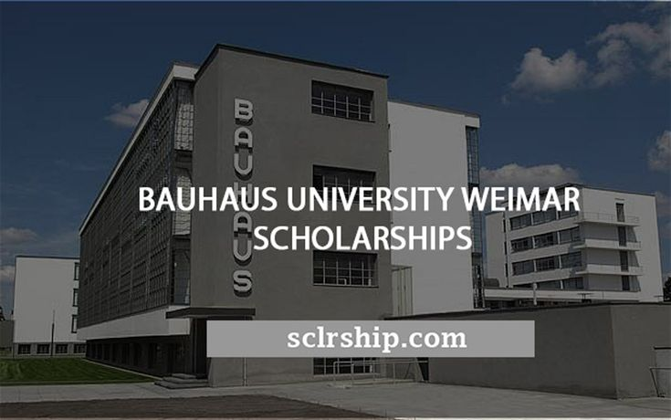 #Bauhaus University #Weimar #Scholarships for International Students in #Germany  https://sclrship.com/country/germany-scholarships/bauhaus-university-weimar-scholarships-international-students-germany/    #sclrship #onlineDegree