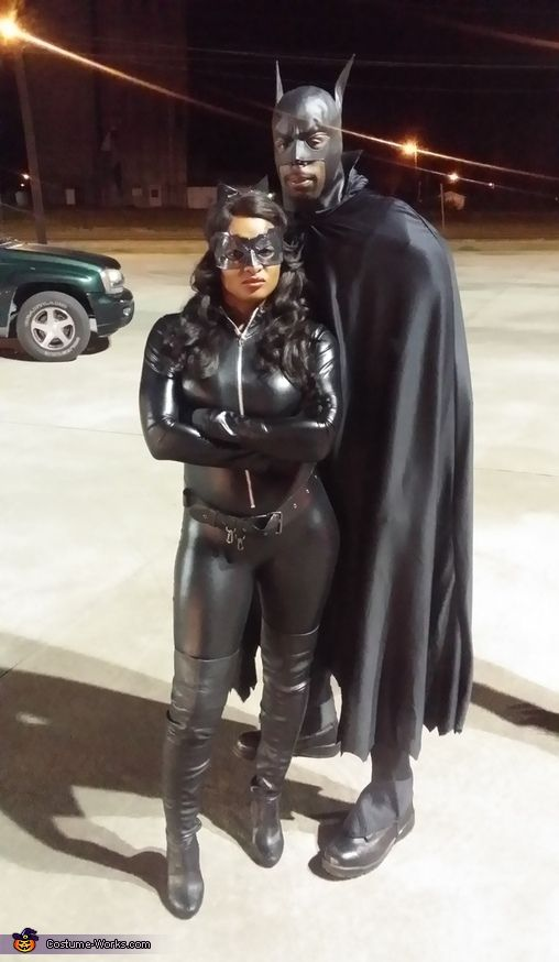 Batman and Catwoman Costume