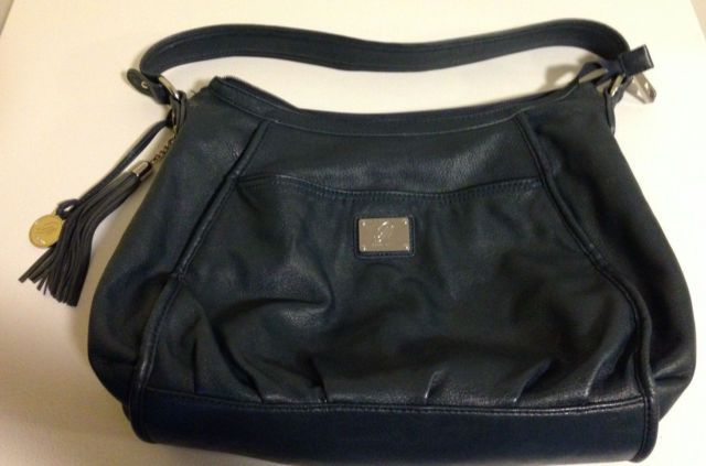 Grace Adele Lily large handbag purse dark teal