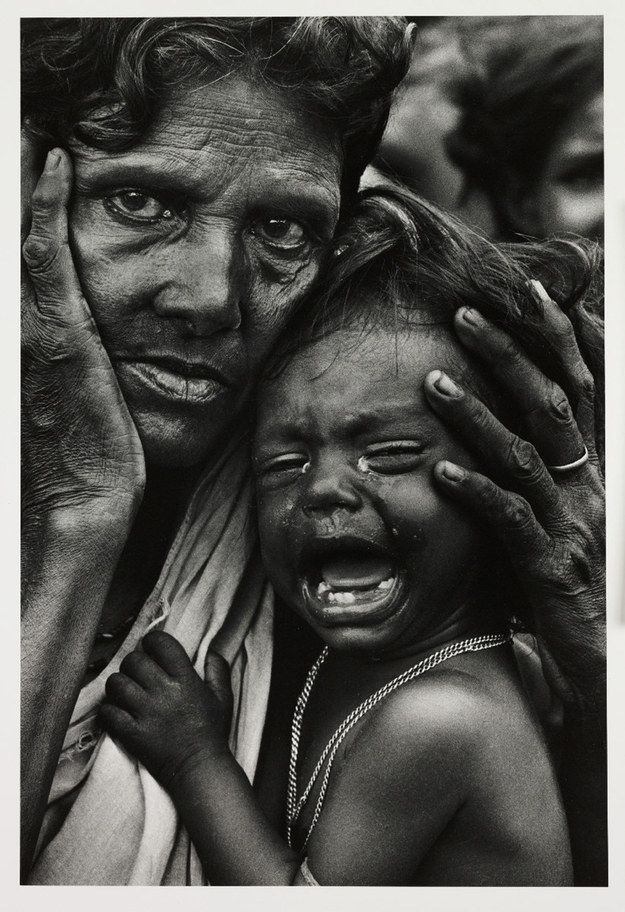 Refugees from East Pakistan on the Indian Border, 1971, Don McCullin. | 22 Of The Most Important Photographs In The World