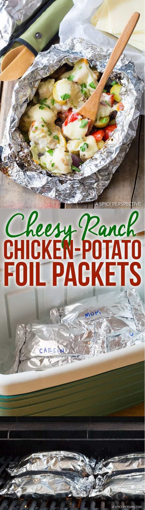 Chicken Potato Leaf Pouches Ranch Cheese – A Spicy Perspective   – Food