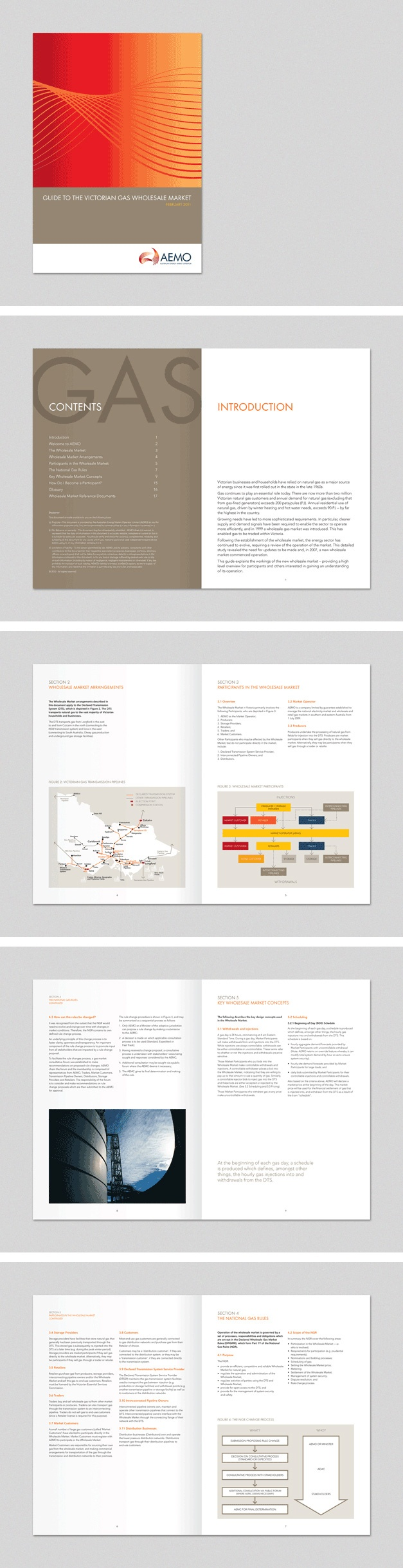 Brochure for AEMO. www.fenton.com.au #communication #PR #branding #graphicdesign