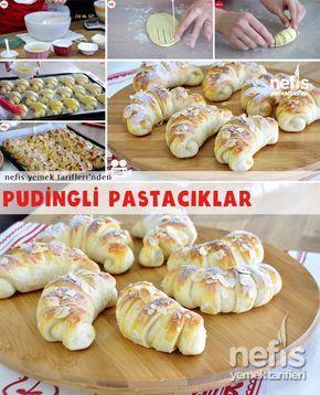 Vanilyalı Puding Pastacıklar Nasıl Yapılır