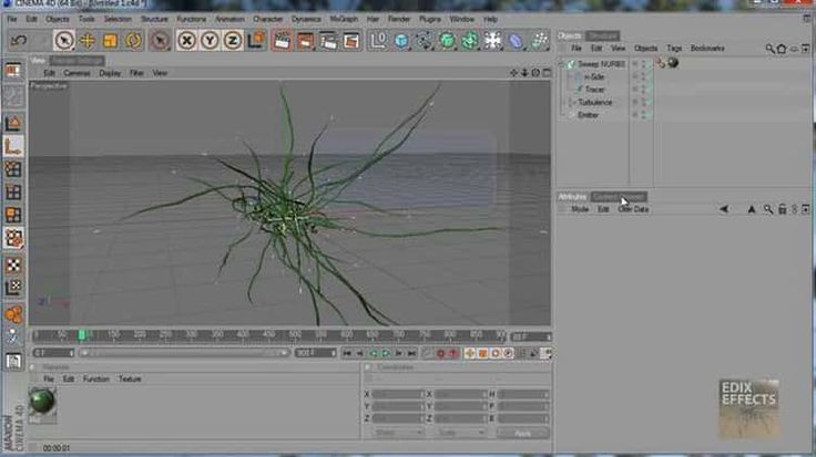 Cinema 4D Tutorial: Abstract 3D tentacles