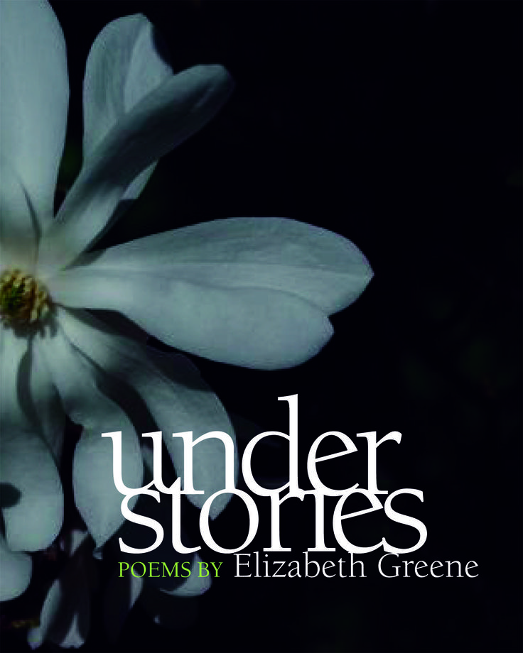 """Understories - poems by Elizabeth Greene: Understories is an exploration of things visible mostly to the inner eye and memory, things below the surface. The book began as a riff on Mark Strand's brilliant title, """"Planet of the Lost Things,"""" and it is an exploration of loss, but also of recovery through memory and language. One of the themes of Understories is """"where does the story end?"""" and the book takes the long view, writing beyond the apparent ending. $18.95"""
