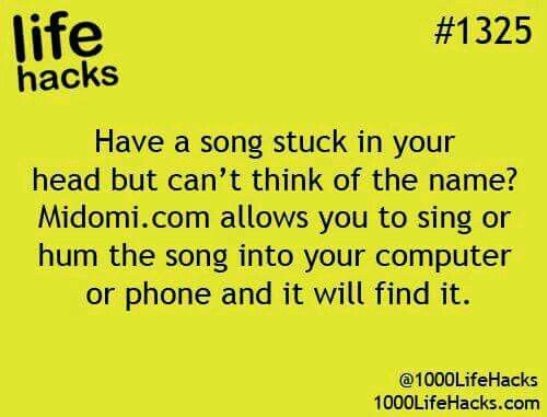 Find a song by humming or singing it