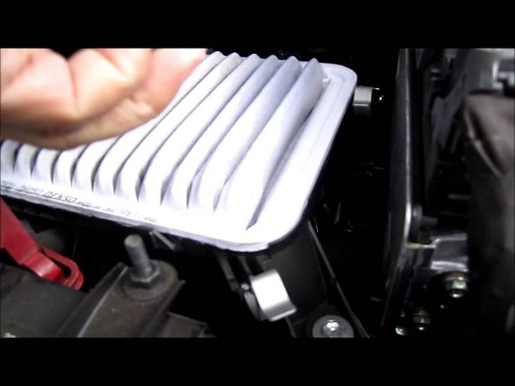 How to Replace Engine air filter on Toyota Camry 2012 or newer